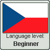 Language level: Czech (beginner) by Aquiliris