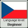 Language level: Czech (beginner) by Aquiliris