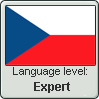 Language level: Czech (expert) by Aquiliris