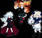 Fan Nansei - Fallen Enchantment Main Characters by Felis-Licht