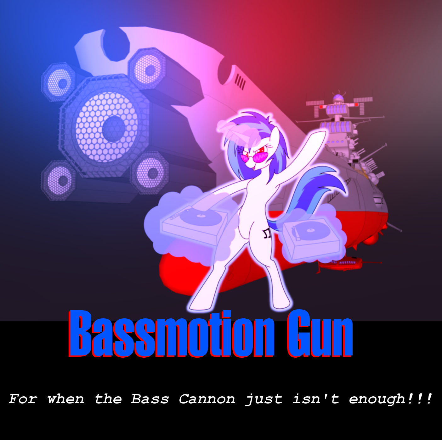 Bassmotion Gun by NezumiYuki