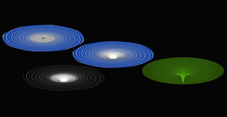 Real Tiny Super Massive 3D Black N Blue Holes LoL by ...