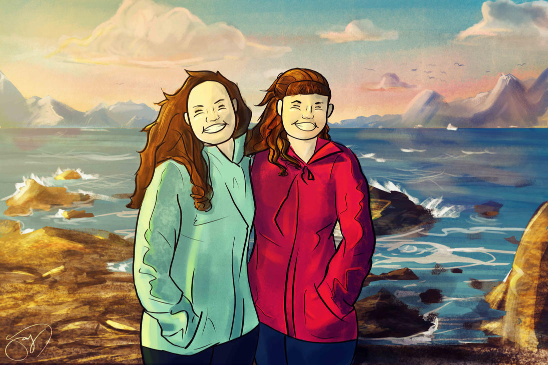 Christina and Jessica: A Birthday Gift by jaypanchal