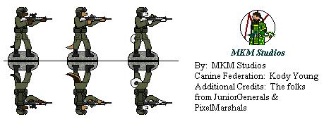 Canine Federation Soldiers by Mirumoto-Kenjiro