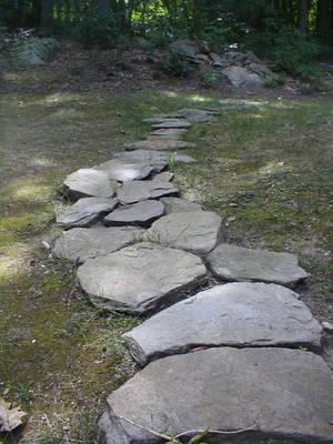 Rock Path by eyewish-stock