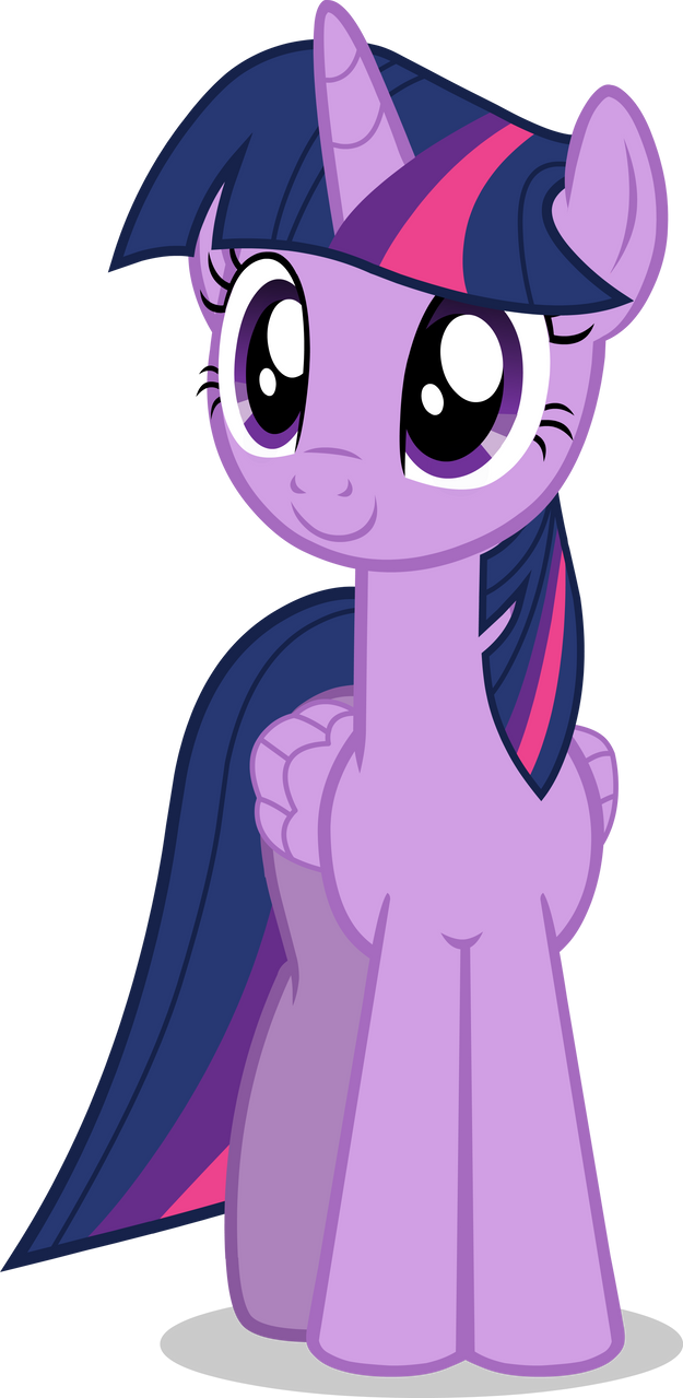 Quickly Vectored Twilight Sparkle by CutesieArt on DeviantArt