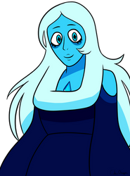 Blue Diamond Doodle by CutesieArt