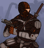 Slade in Crysis