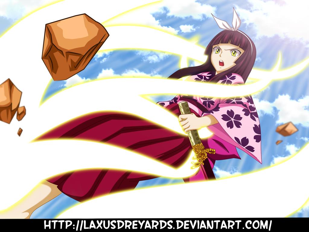 Kagura vs rakheid dragneel ft 509 by laxusdreyards on - Kagura fairy tail ...