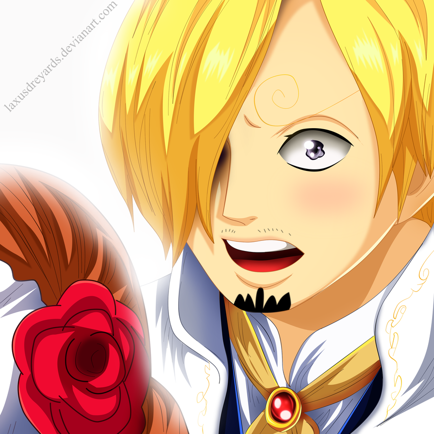 Sanji y Pudding Boda OP 862 by LaxusDreyarDs