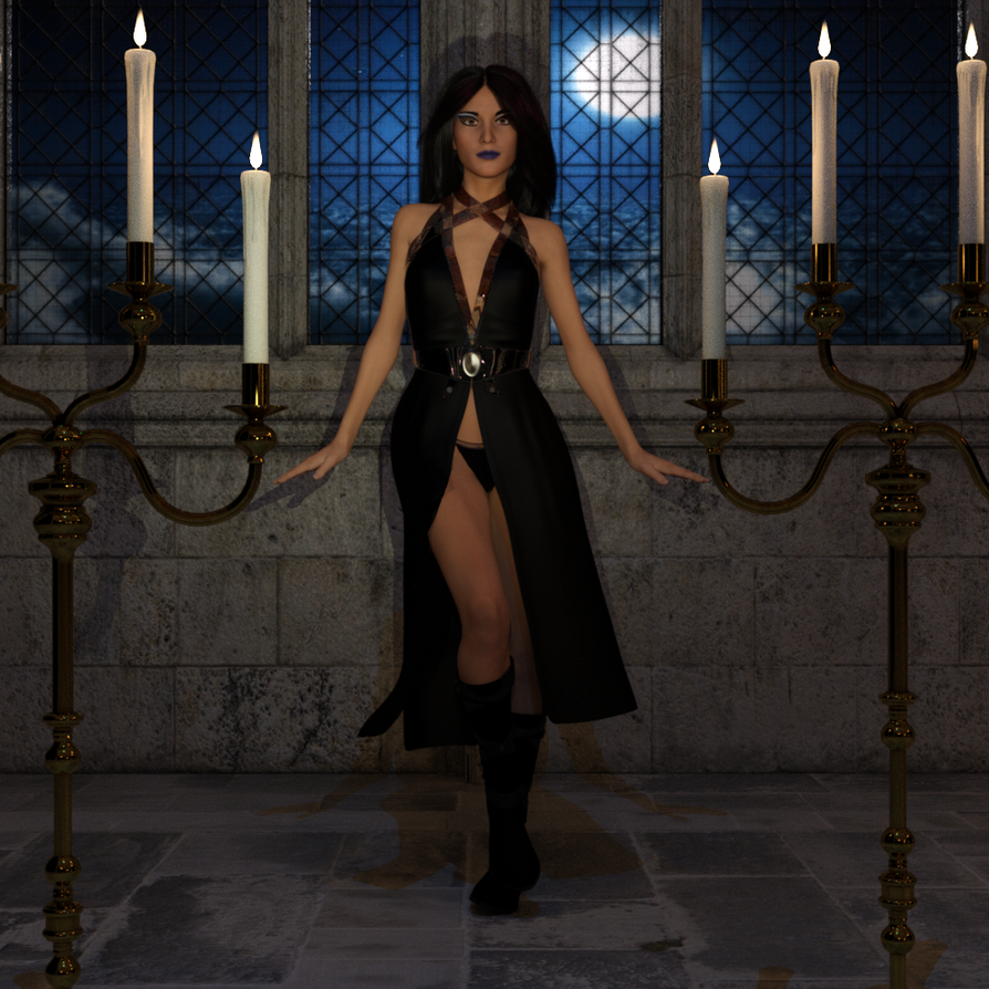 Dark Priestess by dazfreak