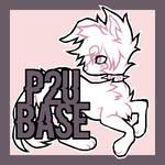 [P2U] Feral Dog Base by Flaamez-Adopts
