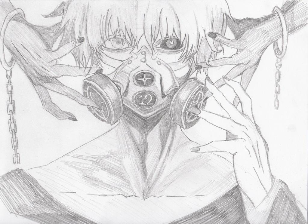 Ken Kaneki Tokyo Ghoul By Jinxyoung On Deviantart