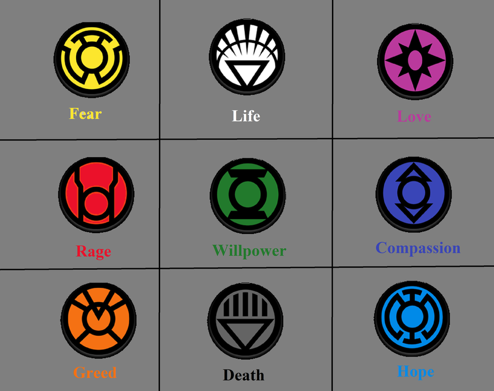 All Green Lantern Colors And What They Mean By Thezero759