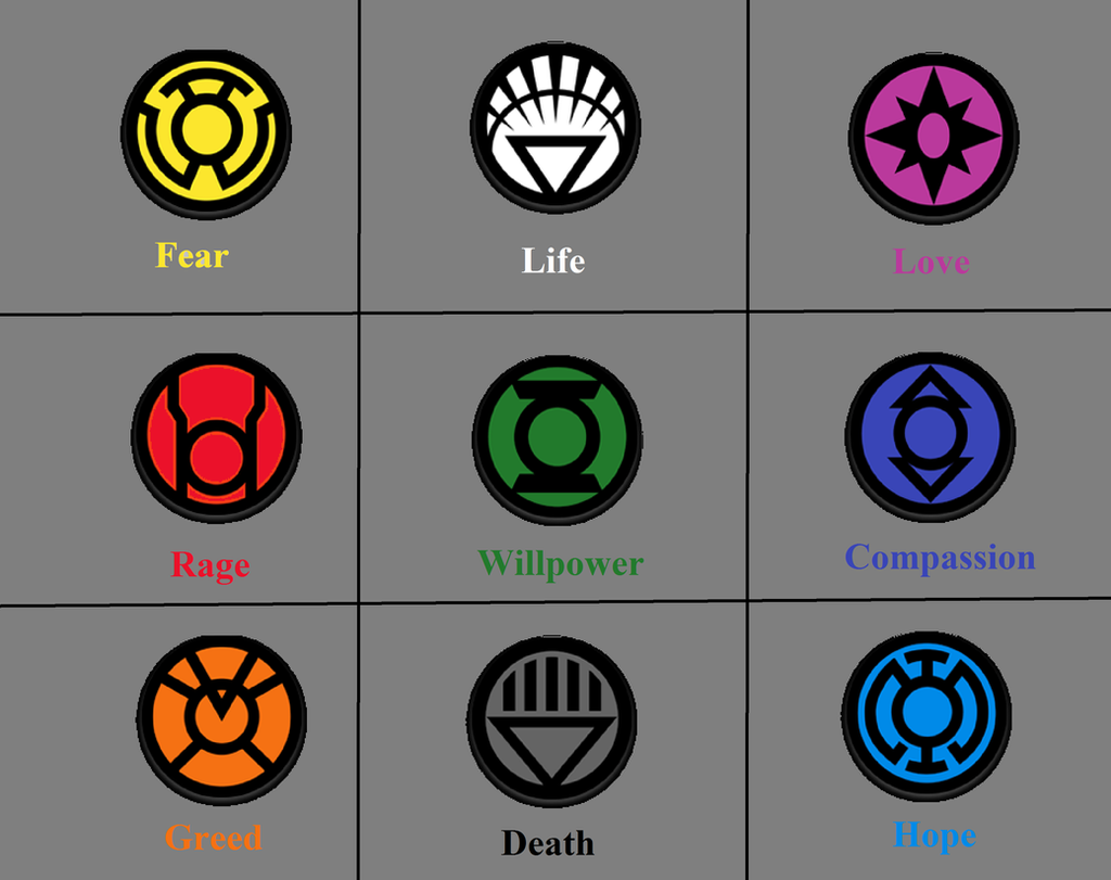 All green lantern colors and what they mean by thezero759 on all green lantern colors and what they mean by thezero759 biocorpaavc