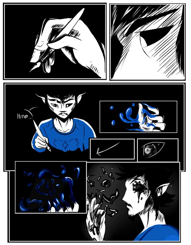 Bottled Up : Dark Ink Chapter 1 - Dark on Me 1 by LegendGodsHTF