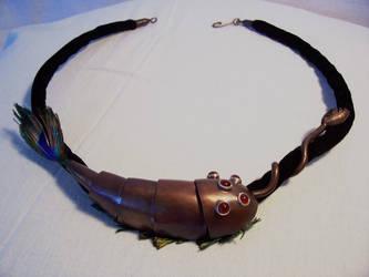 Opabinia neckpiece by sideshowratt