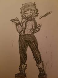 Smug girl by gmangeoffrey