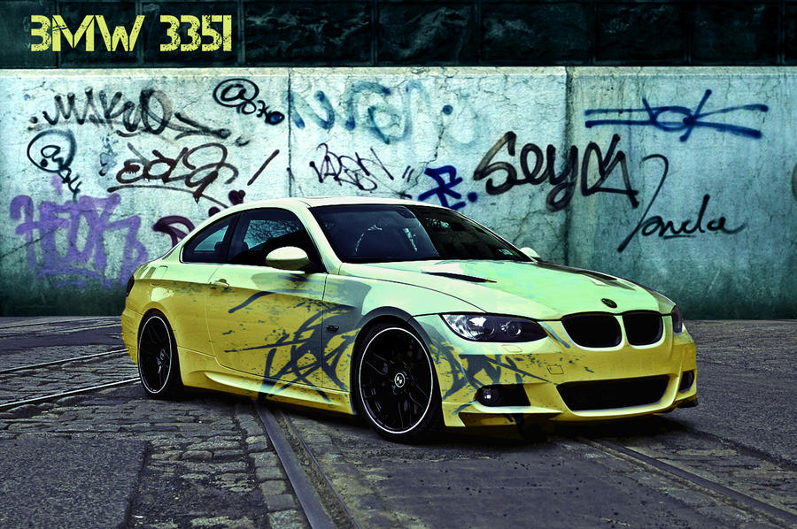 BMW 335i dirty