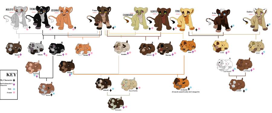 Lion King Family Tree Disney