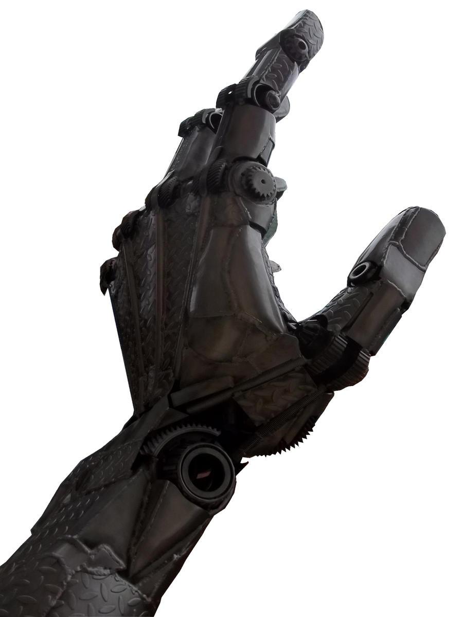 Metal Hand by specialoftheweek