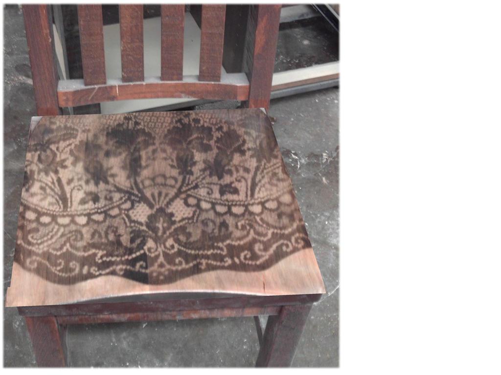 Faded Lace Seat by specialoftheweek