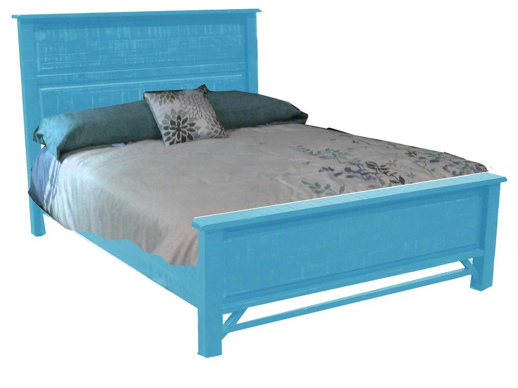 Fantasy Bluish Bed by specialoftheweek
