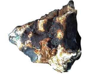 Asteroid dark coloured