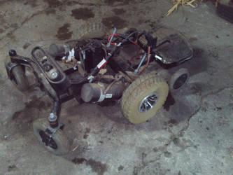uncovered battlebot base