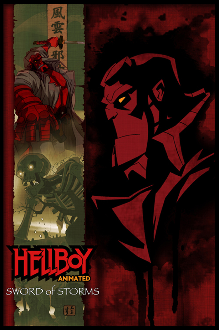 Hellboy Animated poster by hyperjack08 on DeviantArt