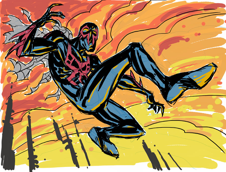 Spider-man 2099 By Hyperjack08 On DeviantART