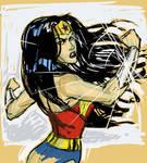 WonderWoman digisketch