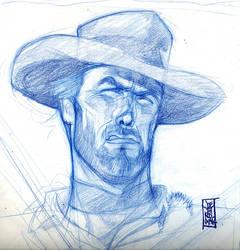 Clint sketch