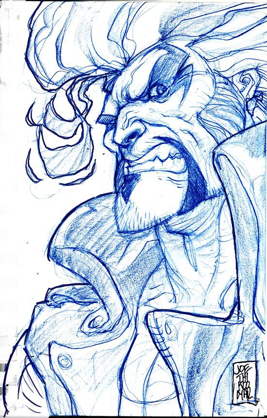 Lobo sketch by hyperjack08