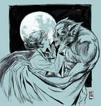 Man-Bat sketch