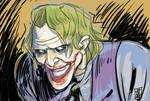 joker movie sketch