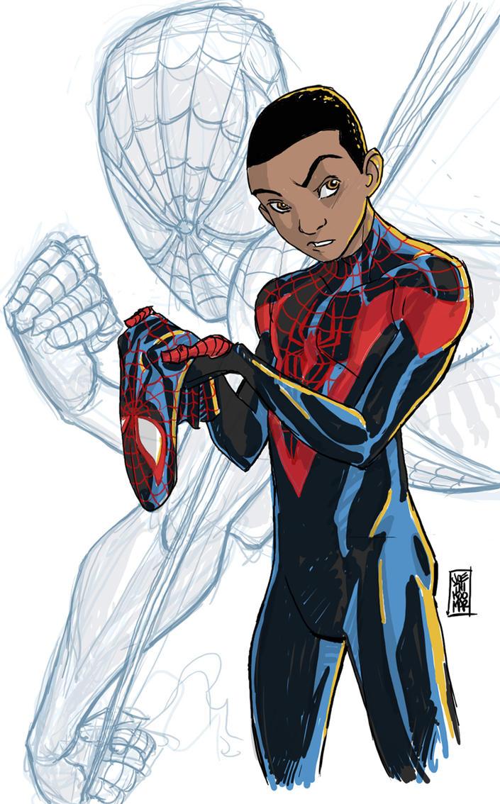 Miles Morales, Spider-Man! by hyperjack08