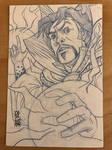Doctor Strange Sketch Card