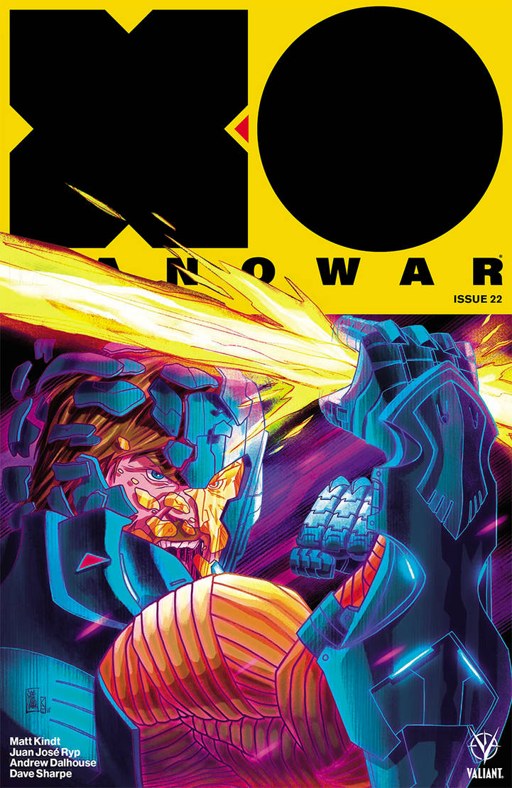 X-O Issue 22 cover art