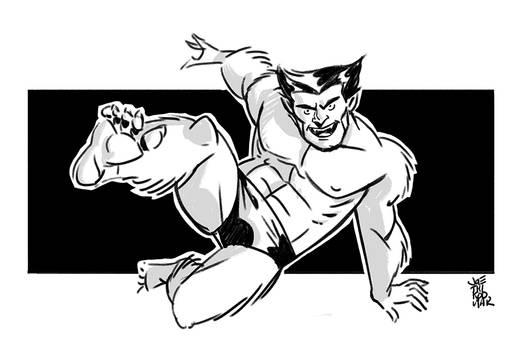X-men: Beast Digisketch
