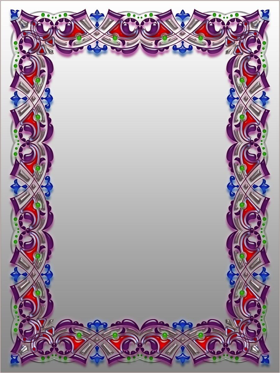 Fancy border design x by blakehenryrobson on deviantart for Paper border designs