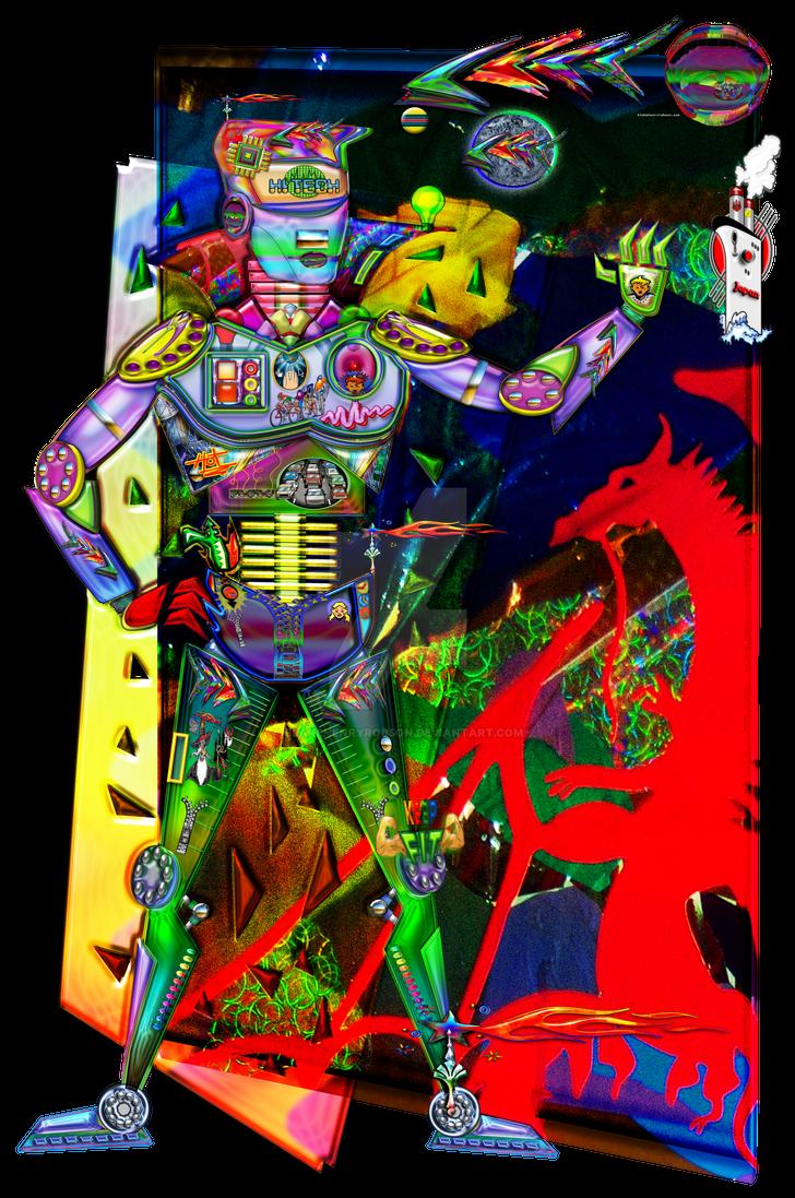 Street Ready Digital Man Robot Prototype by BlakeHenryRobson