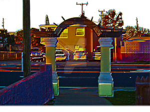 Archway At Daytona Beach Public Access Walkway