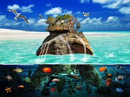 Turtle Island Fantasy Secluded Resort