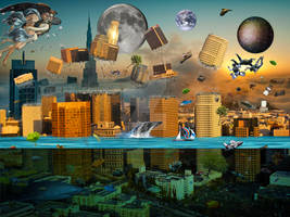 Gravity Confusion City Under Siege