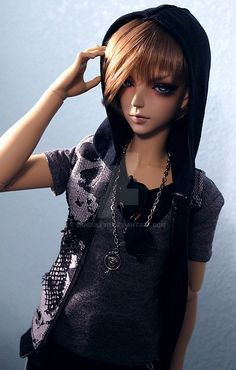 Modern Boy Doll by Sandulf315