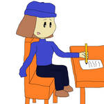 Peanuts Eudora One Arm Writing With Secondary Arm