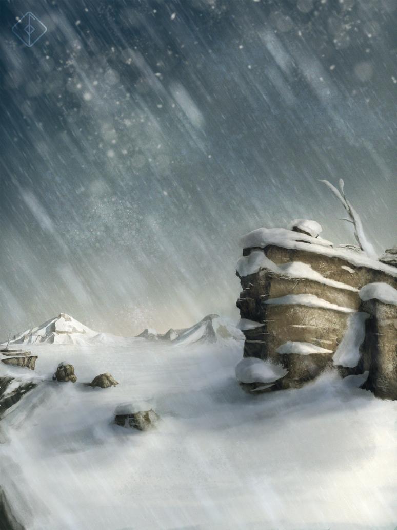 winter study by davaroglan