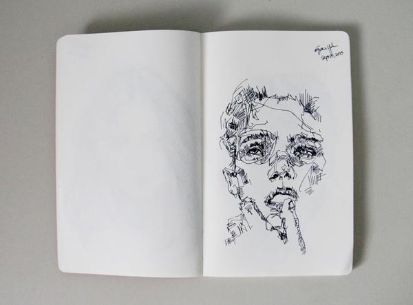 Boy Study by supergiirl