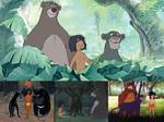 Mowgli, Baloo and Bagheera's Appearances